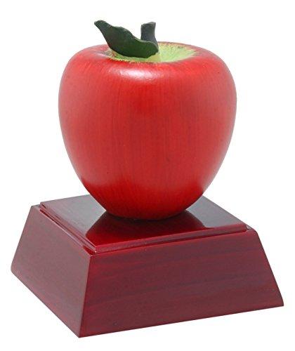 - Decade Awards Apple Color Resin Trophy | Teacher Appreciation Award | 4 Inch Tall - Customize Now
