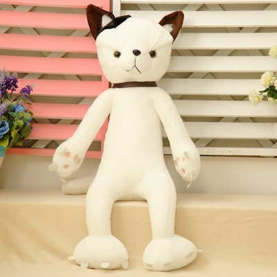 Cengbao Japanese Rice Cat Doll Plush Toy Pussy Birthday Gift Female Claw Cats White 50 Cm Amazoncouk Kitchen Home