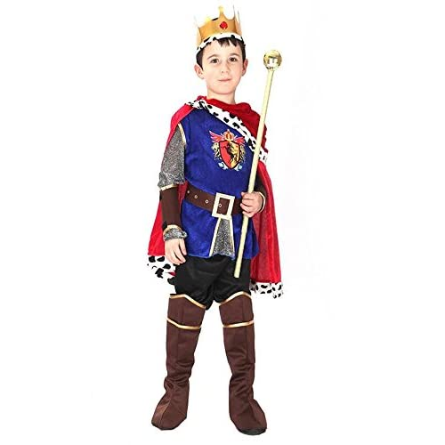 chic LaLaAreal Disfraz Principe Traje de Rey para Fiesta Carnaval ... 16b8264cae1