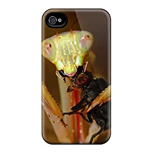 LauraKrasowski Design High Quality Praying Mantis Meal Covers Cases With Excellent Style For Iphone 6