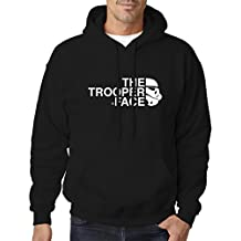 BBT Adult Star Wars Stormtrooper The Trooper Face Hooded Sweatshirt Hoodie 4XL Black