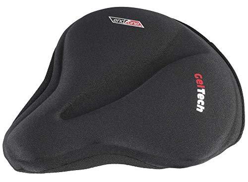 VELO Endzone Soft MTB Saddle Bike Gel Seat Cover Size: 269-244 x 279-254mm