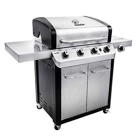 Char Broil Signature 530 4-Burner Cabinet Gas Grill - 4 Burner Gas Grill