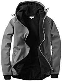 Howies Men's Bonded Softshell Full Zip Hoodie