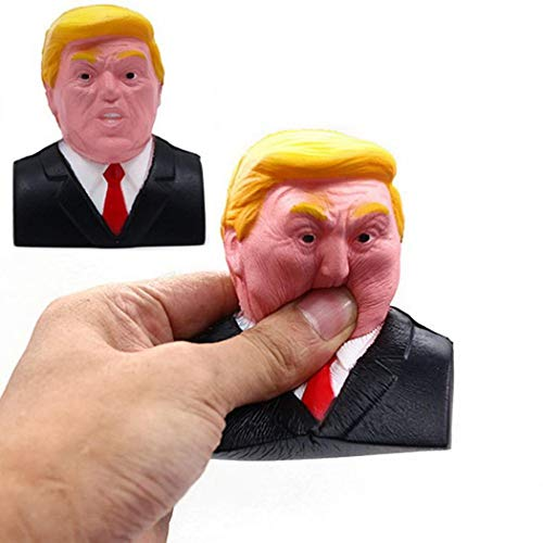 Kikole Novelty Trump Donald Stress Squeeze Ball Squeeze Toys Growth Charts
