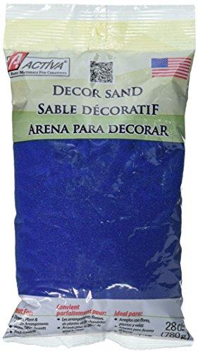 ACTIVA Décor Sand, 28-Ounce, Bermuda Blue