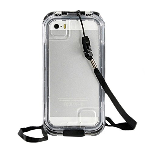 Changeshopping(TM)IPX-8 25ft Waterproof Shockproof Dirt Proof Cover Case for iPhone 5 / 5S