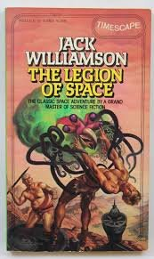 book cover of The Legion of Space