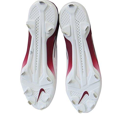 Maroon Football TD Cleats Super Lunar Men's Nike Bad Pro Molded White vPfwR0