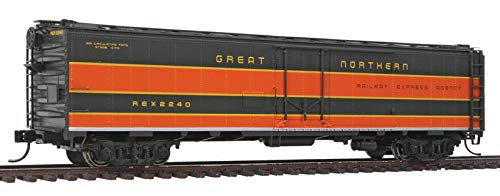 Reefer Express (Walthers Proto HO Scale 50' REA Steel Express Reefer Great Northern/GN #2240)