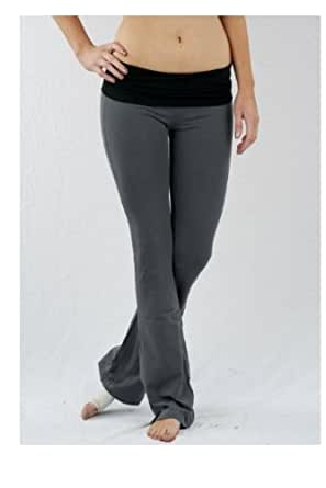 Basic House Women's Yoga Lounge Pants Small Charcoal/Black