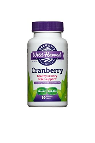 - Oregon's Wild Harvest Cranberry - Organic - 60 caps (Pack of 3)