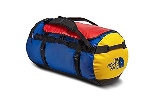 The North Face Base Camp Duffel Small Bright Colbat Blue/TNF Black by The North Face