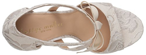 Bettye Muller Women's Dreamy Dress Sandal, Ivory, 6 M US Ivory