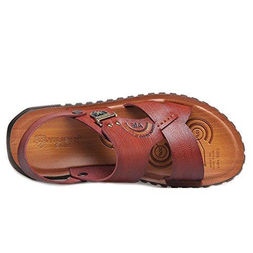 Senderismo De Zapatos Hombre Aire Verano Al Playa Zapatos para De Caminar Libre Khaki Sandalias Viajes Sdvwx1SqR