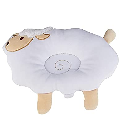 Nursing Pillow&Flat Head Pillow,KAKIBLIN 2 in 1 Organic Cotton Super Comfortable Pillow