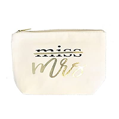 Miss to Mrs Bride Bridal Canvas Gift Bag Gift Bridal Bag Engagement Wedding Party