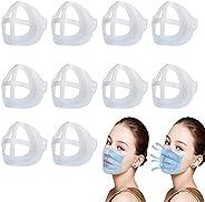 Aibecy Suporte para máscara 3D 10pcs Suporte interno para máscara para proteção de boca e nariz Batom para aum