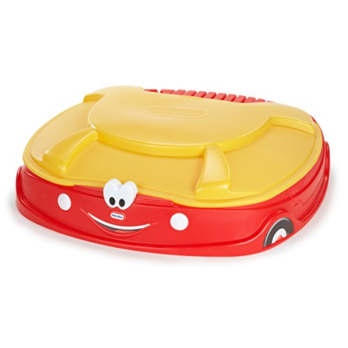 Cozy Coupe 4.17' Rectangular Sandbox, Kids Sandbox by Unknown