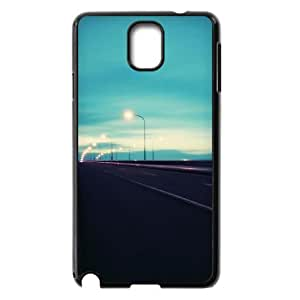 Custom Cover Case with Streetlights for Samsung Galaxy Note 3 N9000 at Hushell