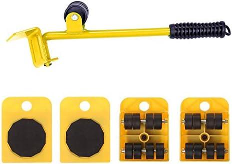 Cutogain Home Tragbare M/öbeltransporter Schwerer Objektheber Stahl Handwerkzeug Set B/är 200kg 360 Grad Drehen