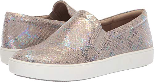 (Naturalizer Women's Marianne Silver Irridescent Snake Leather 7 M US M (B))