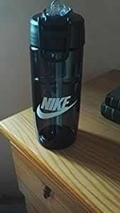 T1 Flow Swoosh Water Bottle 16oz - Anthracite