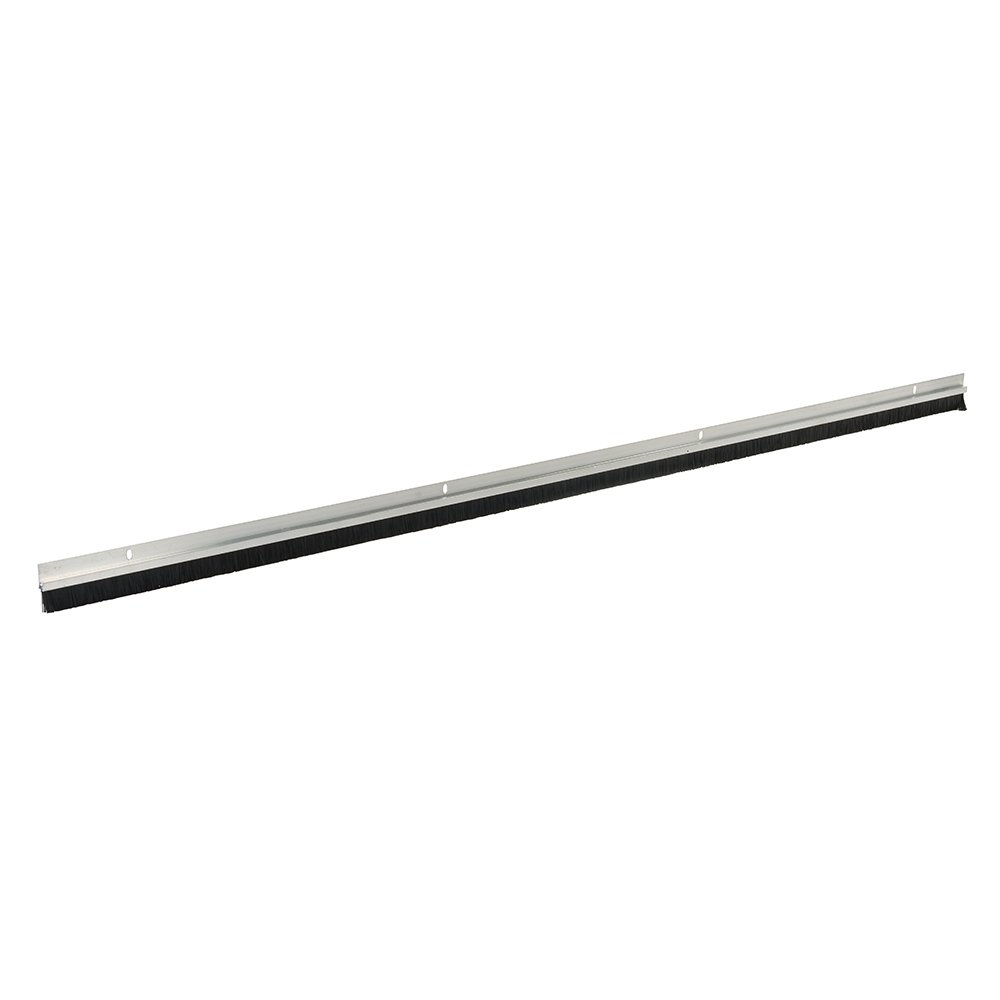 Fixman 374521 Aluminium Door Strip Draught Excluder Brush 914mm Length 15mm Bristles Silverline Ltd