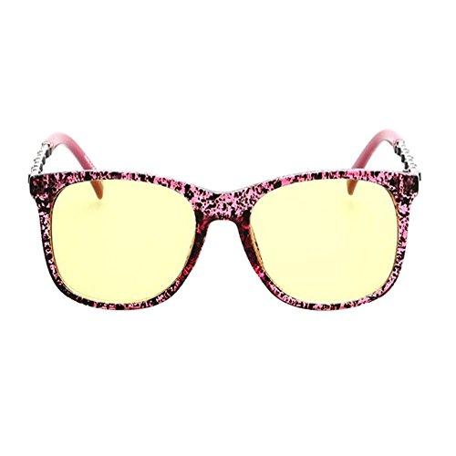 Vintage Xinvision Claro luz Anti Eyewear Filtro Gafas Computadora Lente azul de Hombre Mujer Proteccion Clásico Fatiga Moda Púrpura 7rAqw7