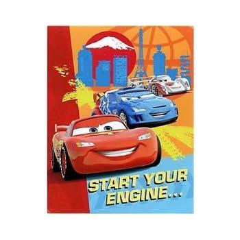 Disney Cars 2 Party Invitations 8pk