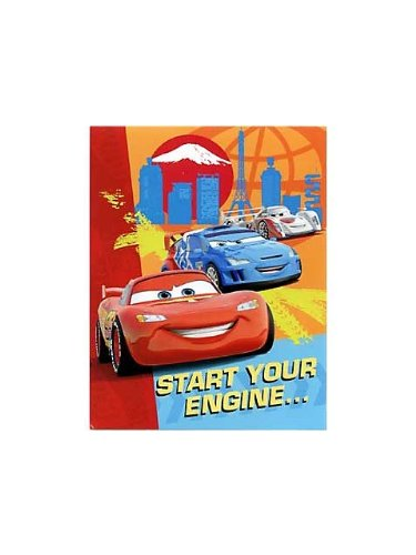 Disney Cars 2 Party Invitations 8pk ()