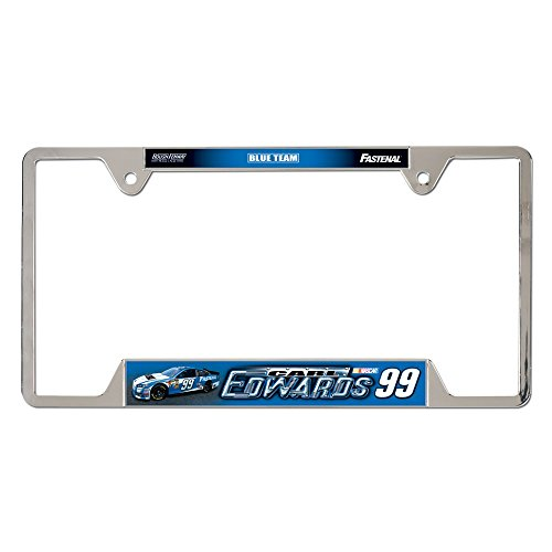 "Carl Edwards Official NASCAR 12""x6"" Metal License Plate Frame"