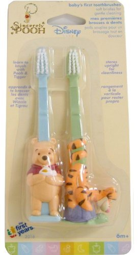 Disney Winnie the Pooh Baby's First Toothbrushes The First Years Inc.
