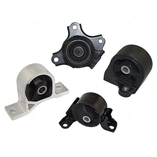 4 Piece Set Engine & Transmission Motor Mount Kits Replacement for Honda Civic 1.7L Automatic Transmission HO4140143 0820S5AA08 AutoAndArt