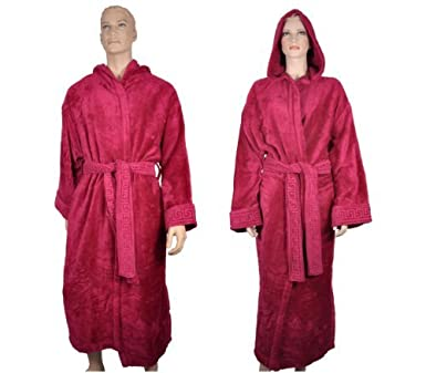 6201d42f Versace Men's Bathrobe Purple Purple: Amazon.co.uk: Clothing