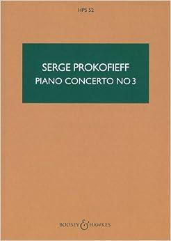 プロコフィエフ: ピアノ協奏曲 第3番 ハ長調 Op.26/ブージー & ホークス社/中型スコア