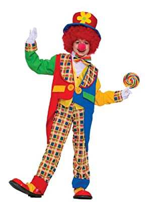 Clown On The Town Costume, Large