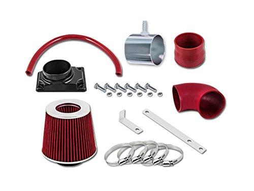 R&L Racing Red Short Ram Air Intake Kit + Filter 02-07 Mitsubishi Lancer 2.0L L4