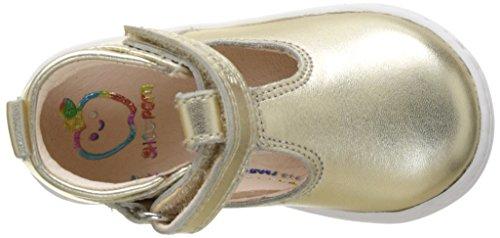 Shoopom Bouba Up Sandal - Primeros Pasos de Otra Piel Bebé-Niños Or (Cha Mpa Gne)
