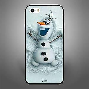 iPhone SE Snowman