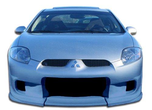Duraflex ED-RSG-489 Demon Front Bumper Cover - 1 Piece Body Kit - Fits Mitsubishi Eclipse - 2006 2007 2008 2009 2010 2011 2012 | 06 07 08 09 10 11 12 (Mitsubishi Eclipse Wings)