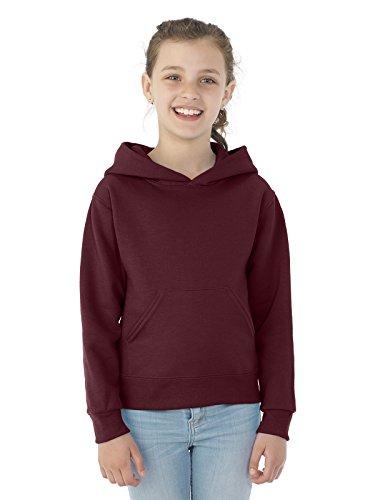 Maroon Youth Hoodie (Jerzees Youth NuBlend� Hooded Pullover Sweatshirt (Maroon) (X-Large))