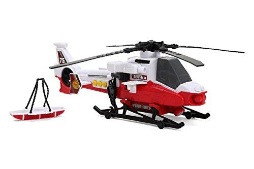 (Tonka Mighty Fleet Rescue Helicopter - Color and Style May Vary - Nib)