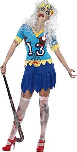 [High School Horror Zombie Hockey Player Costume Small] (High School Zombie Costumes)