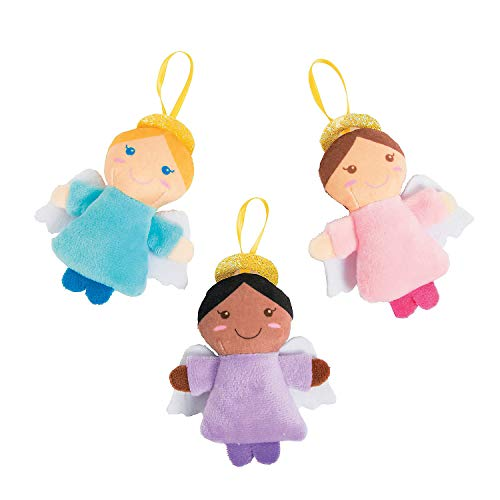 - Plush Angel Ornaments