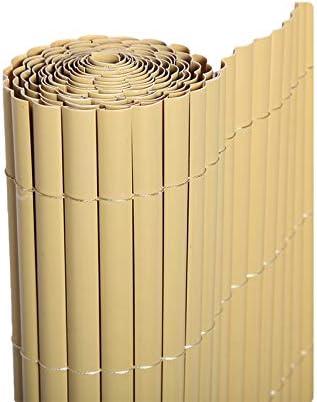 Cañizo PVC 1 Cara Bambu 900Gr/3 1X3 Metros: Amazon.es: Jardín