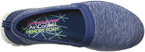 Skechers Ez Flex 3,0 Hurtige Bevægelser Dame Slip På Sneakers Flåde