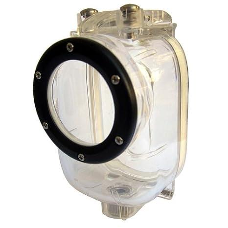 Hama 750 - Carcasa Resistente al Agua para Action-CAM Ego, Transparente