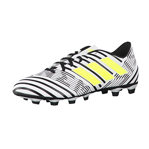 adidas Nemeziz 17.4 Fxg, Zapatillas de Fútbol para Hombre Multicolor (Ftwr White/solar Yellow/core Black)