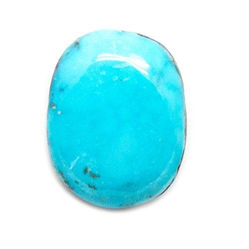 Natural Morenci Turquoise Cabochon ()